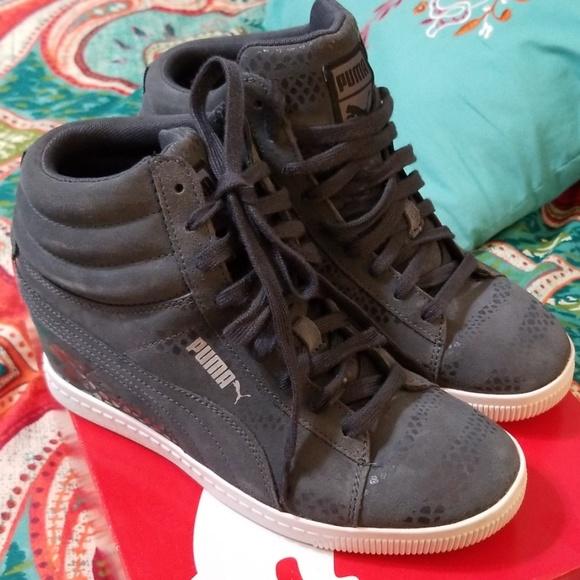6732b2227527 Puma Womens Wedge Sneakers